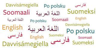 välj språk